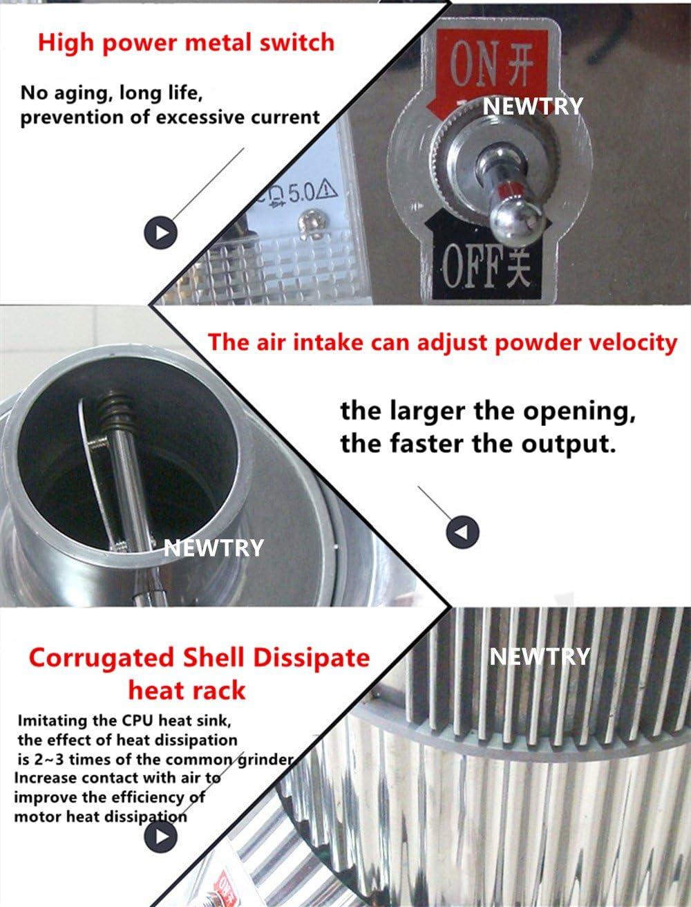 NEWTRY DF-20 - Molinillo eléctrico automático de alimentación ...