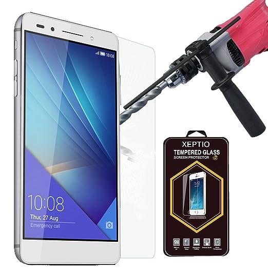 4 opinioni per Huawei Honor 7 4G/LTE Pellicola Protettiva ultraresistente in Vetro Temperato 9H
