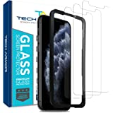 Tech Armor Ballistic Glass Screen Protector for Apple iPhone 11 Pro / iPhone Xs / iPhone X - Case-Friendly Tempered Glass [3-