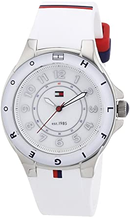 e540733be8828f Image Unavailable. Image not available for. Color: Tommy Hilfiger 1781271  Ladies White Carley Watch