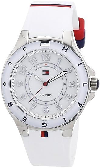 Tommy Hilfiger 1781271 - Reloj de cuarzo para mujer, correa de silicona: Amazon.es: Relojes