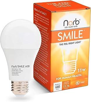 NorbSmile Full-Spectrum LED Light Bulb