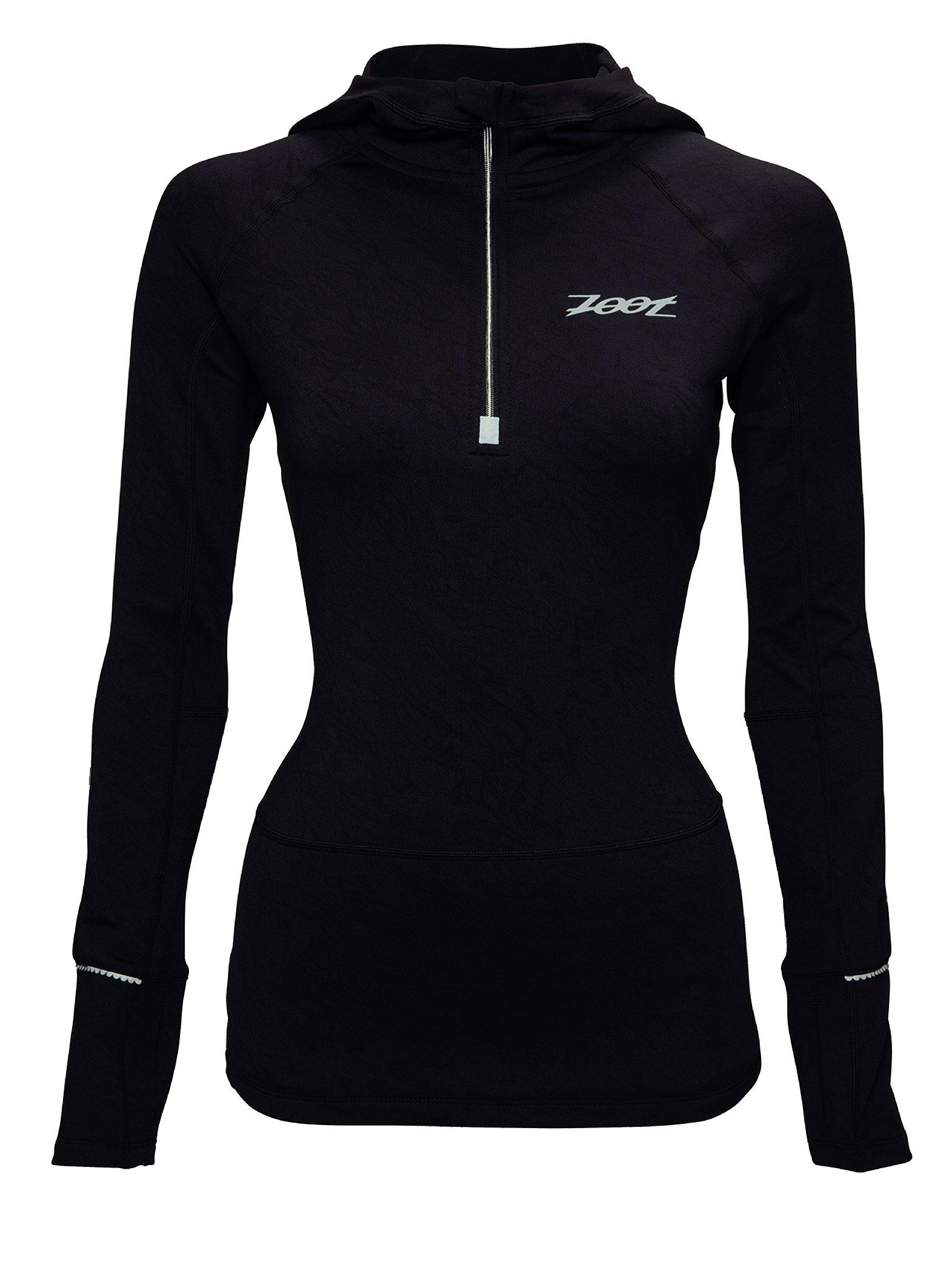 ZOOT Women's Ultra Megaheat Hoodie, Black, Large