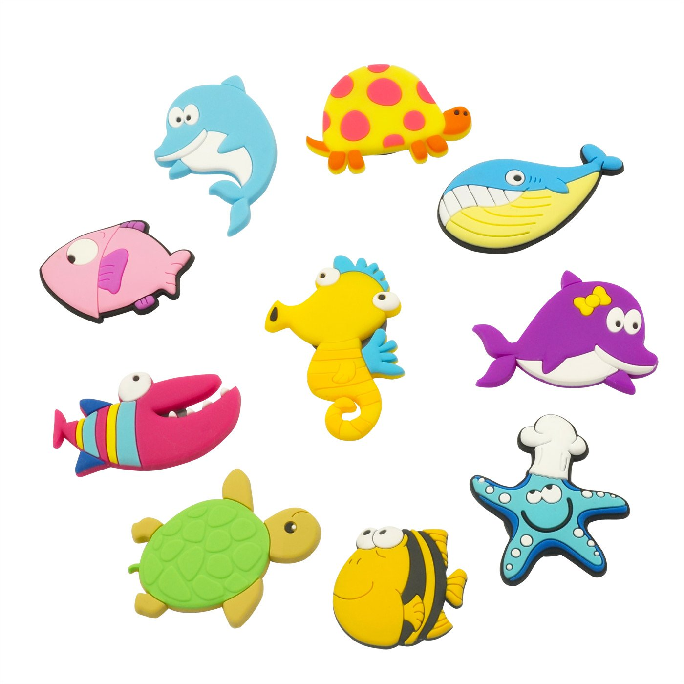 Fridge Magnets for Toddlers Under Sea Ocean Animal Magnets Cartoon Magnetic Fridge Funky Toy for Kids