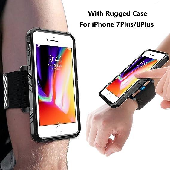 iphone 8 plus running case
