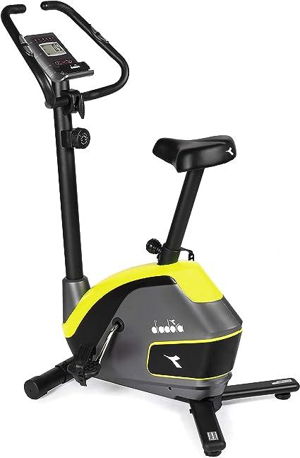 Diadora - Bicicleta estática Galaxy con Manillar ergonómico Ajustable: Amazon.es: Deportes y aire libre
