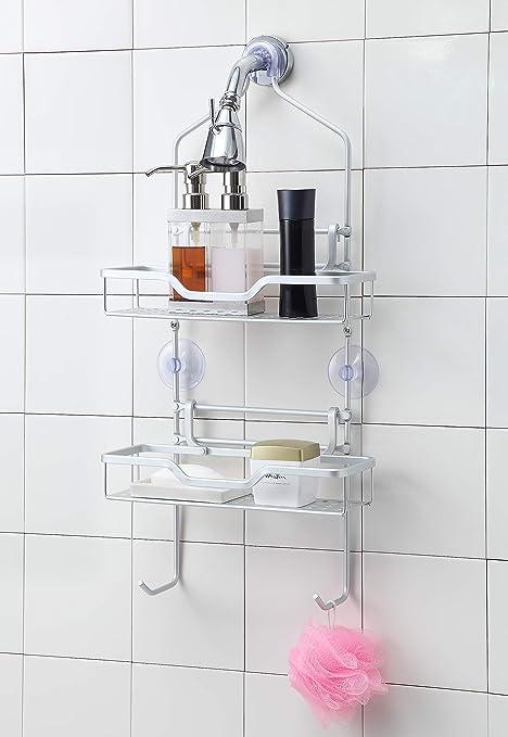 Amazon.com: sunnypoint para cortina de ducha, de aluminio ...