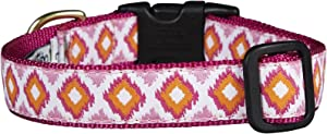 """Up Country Pin C L Pink Crush Dog Collar Width 1"""""""