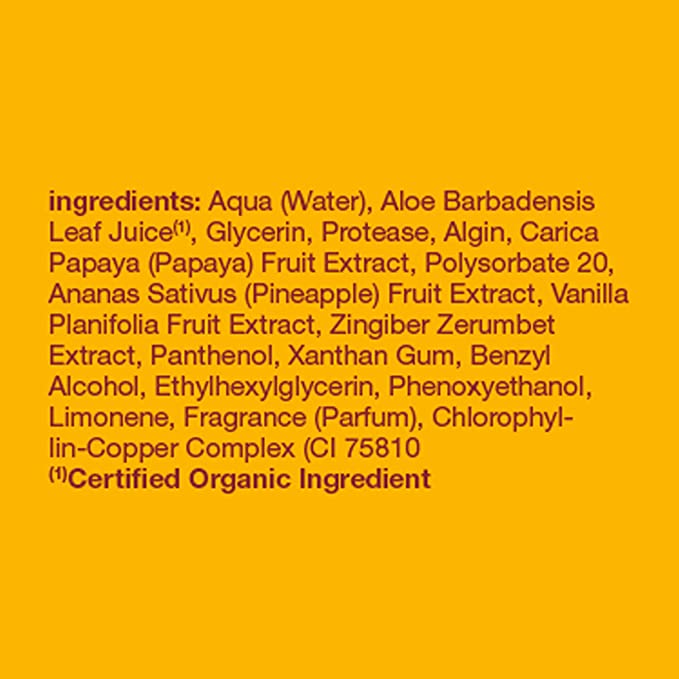 Máscara facial, la enzima de papaya, a 3 oz (85 g) - Alba ...