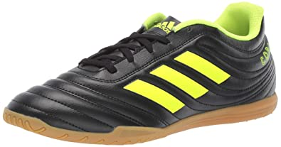 buy popular 84f27 4e920 adidas Mens Copa 19.4 Indoor, Solar YellowBlack, ...