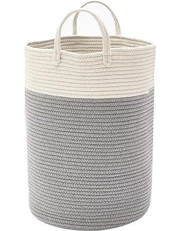 dfc0ae3b6a0 ... Collapisable Laundry Hamper (Dark Grey). 153 · DOKEHOM DKA0625WGL  X-Large Storage Baskets - 15.7