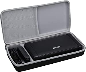Aproca Hard Carry Travel Case Compatible with Epson Workforce WF-100 Wireless Mobile Printer
