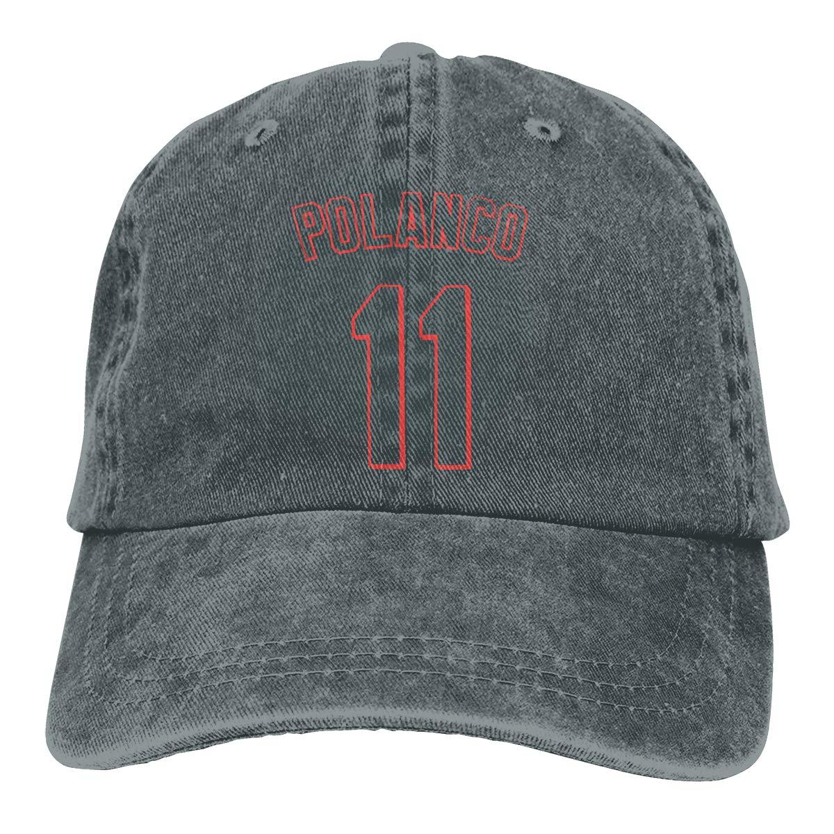 DeniCar Unisex Adjustable Baseball Caps Jorge-Polanco-No-11 Cowboy Skull Cap