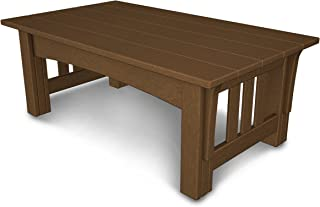 product image for POLYWOOD Mission Coffee Table, Teak