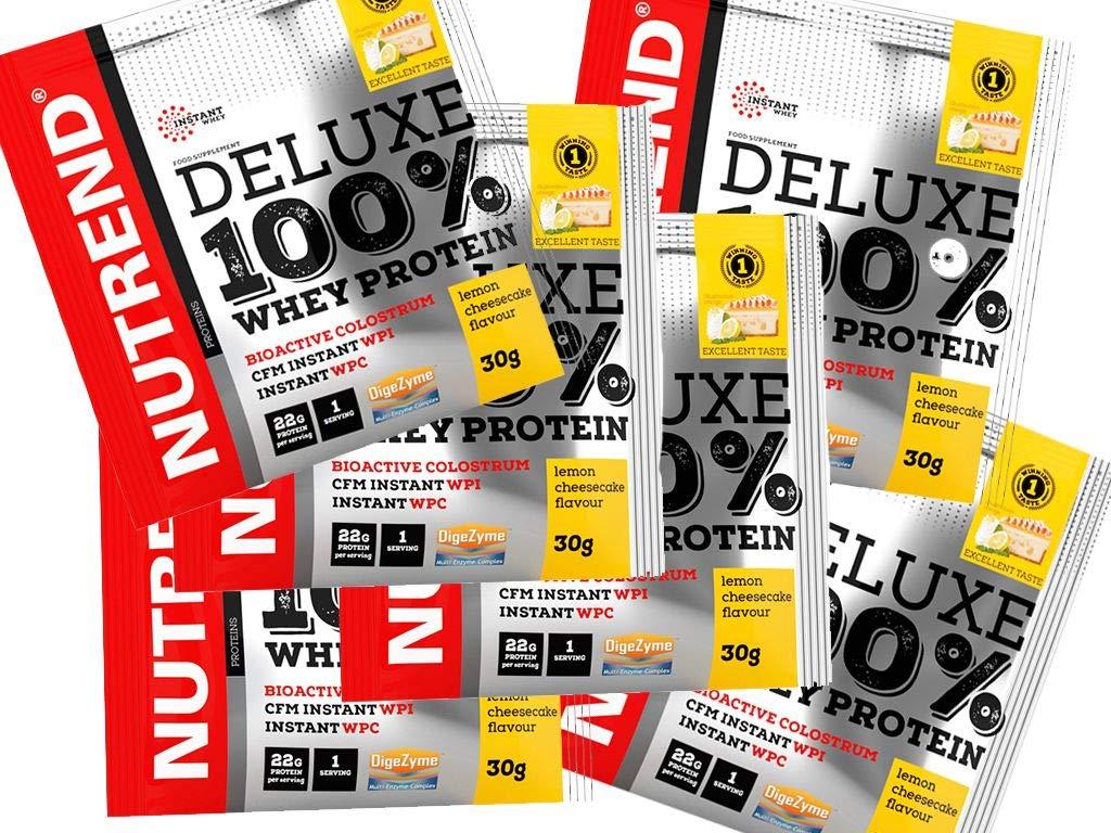 Proteína Whey de suero en polvo Deluxe 100% en Nutrend Sabor ...