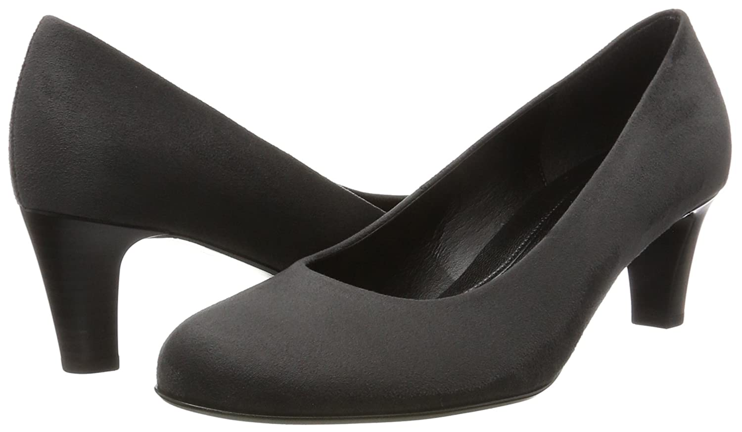 Gabor Damen Basic Anthrazit) Pumps Grau (39 Anthrazit) Basic 63d682