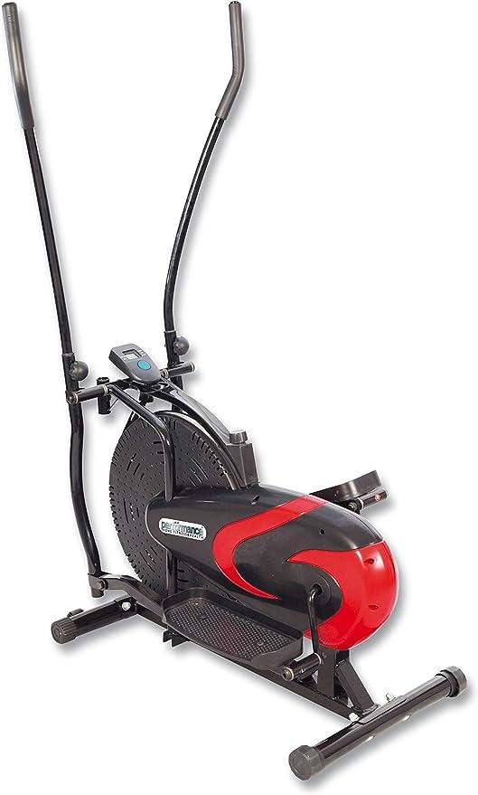 Rovera Track, Bicicleta estática elíptica Disco Externo Unisex – Adulto, Rojo/Negro, Talla única: Amazon.es: Deportes y aire libre