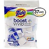 Tide Boost Vivid White Bright Pacs, 37 Pacs