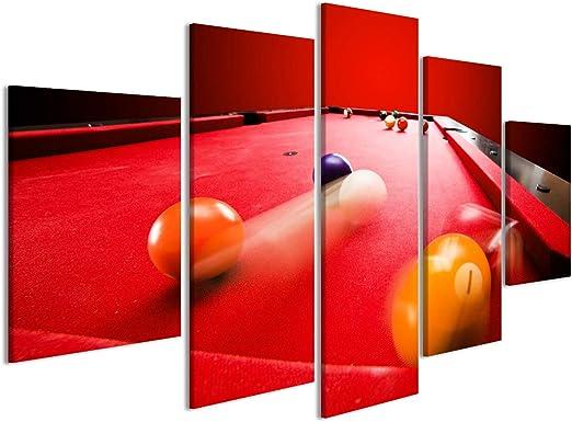 islandburner Cuadro Cuadros Las Bolas del Color de Billar Pool ...
