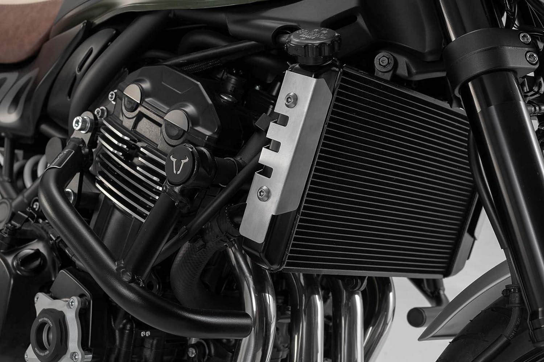 Sw Motech Kühlerschutz Silbern Für Kawasaki Z900rs Cafe 17 Auto