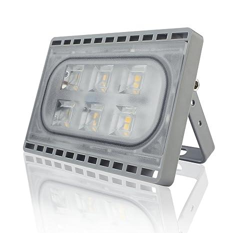 Faretto Da Esterno E Interno 20w Led Faro A Luce Ultra Sottile Di Peso Leggero Proiettore Per Esterni Impermeabile Ip65 Per Illuminazione Bianco Caldo