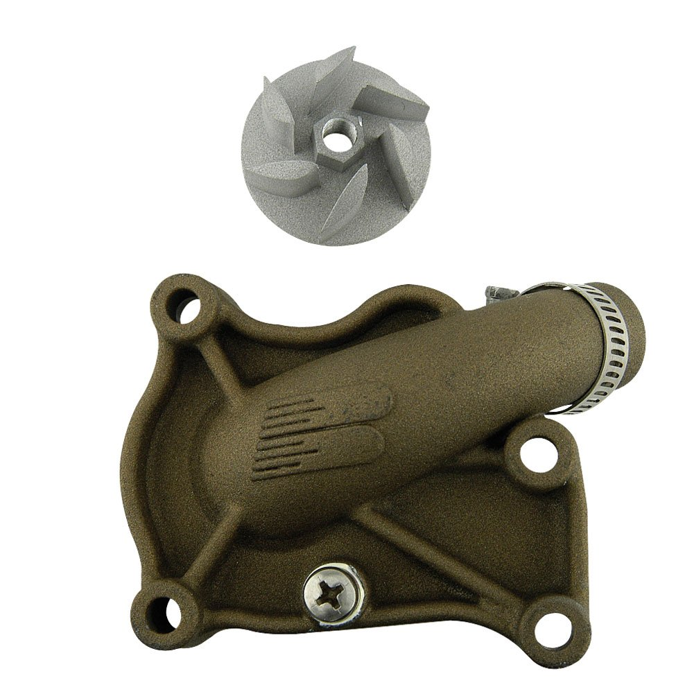 Boyesen Supercooler Water Pump Cover and Impeller Kit Magnesium - Fits: KTM 150 XC-W (E-Start) 2017-2019