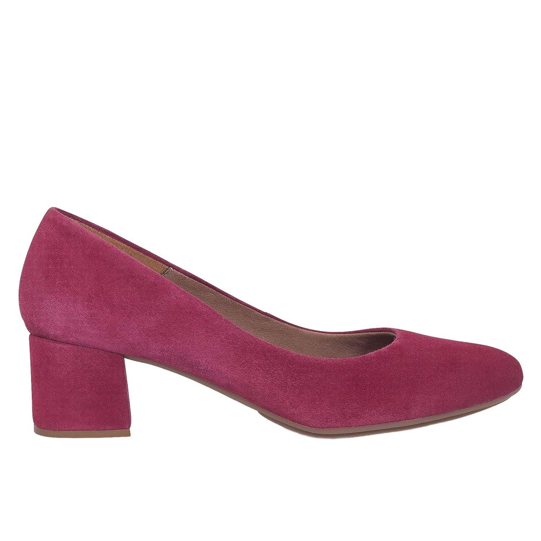 Zapatos Salón. Zapatos Piel Mujer Hechos EN ESPAÑA. Zapatos Tacón Rojo Cereza. Zapato Mimao. Zapatos Mujer Tacón. Zapatos Mujer Fiesta. Zapato Cómodo Mujer con Plantilla Confort Gel