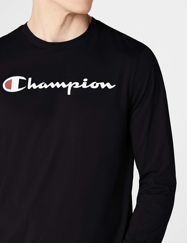 164f9dbb37f1 Champion Men's Long Sleeve Crewneck T Shirt: Amazon.co.uk: Clothing