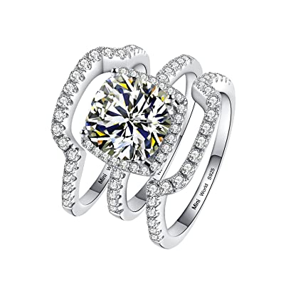 ring synthetic solitare engagement attachment diamond awesome outstanding rings of