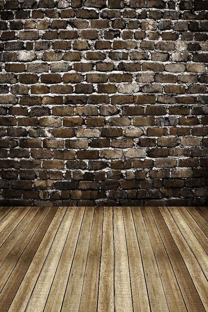 GladsBuy Old Brick Wall 6 x 9 Digital Printed Photography Backdrop Wall Theme Background YHB-071
