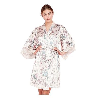 Debenhams The Collection Womens Cream Floral Print Satin \'Elegant ...