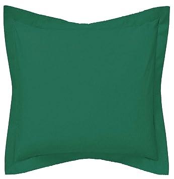 SAFFRON Funda de cojín decorativa a medida - Funda de almohada con brida botella verde algodón extraíble funda, relleno no incluido, algodón, Verde, ...