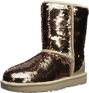 a7b3ba74410 Amazon.com   UGG Women's W Mini Sequin Bow Fashion Boot   Snow Boots