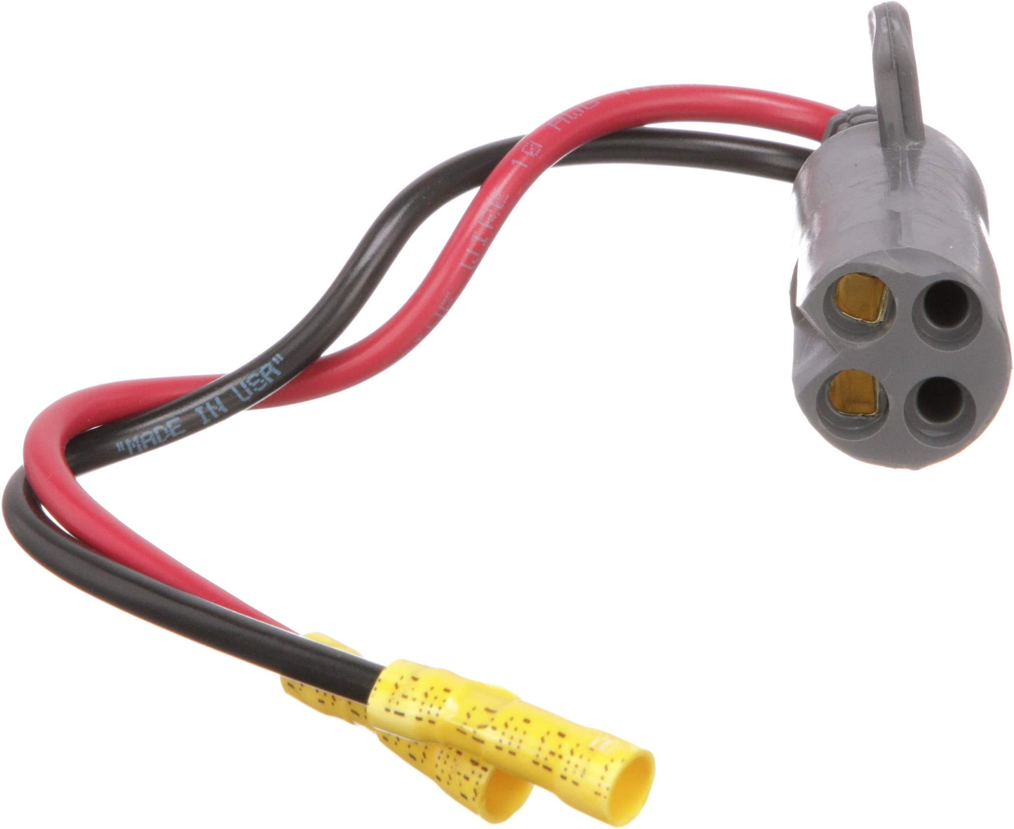 Walker Marine Electric Outboard Motor Connector Male 2 Wire 12v Ebay on