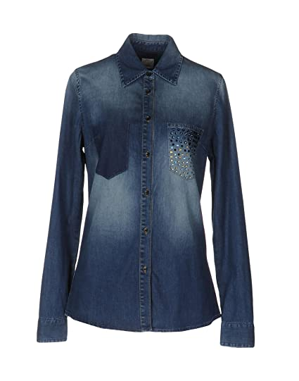 Pinko Micologia Camicia Jeans Fluido Denim top  Amazon.co.uk  Clothing 363e5f73a3a