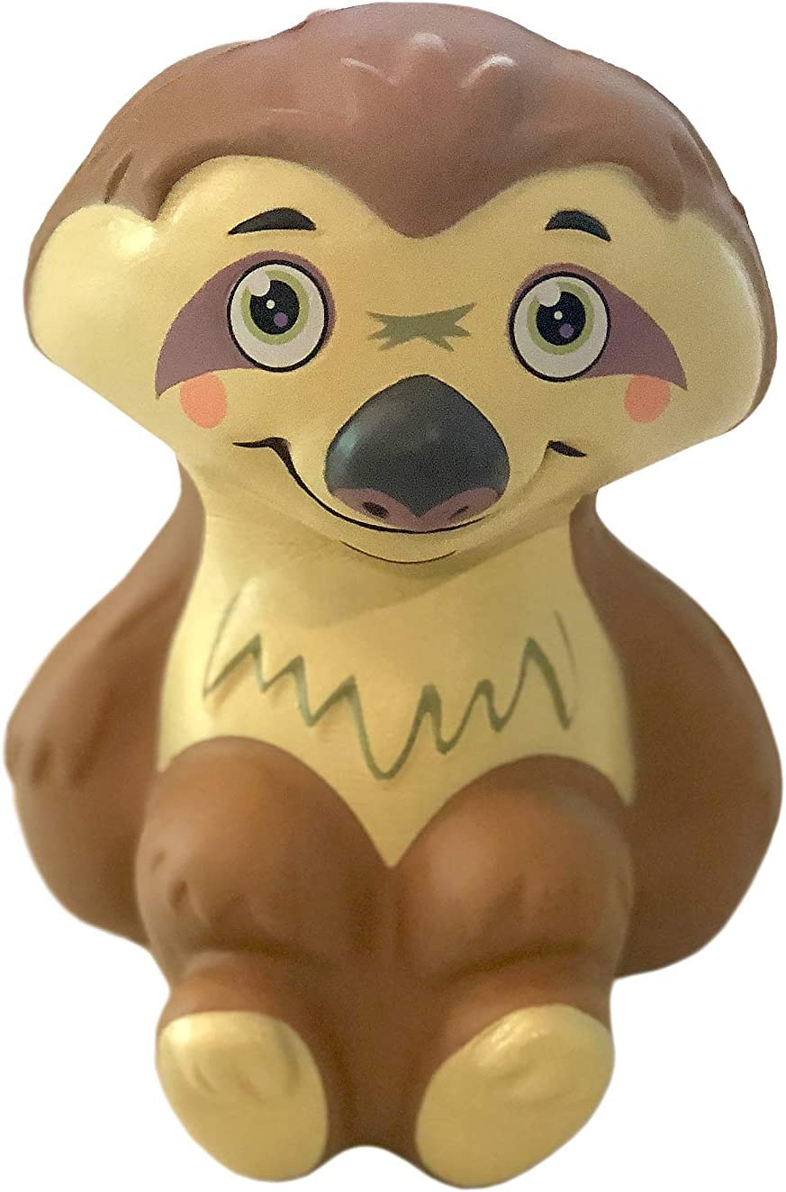 Soft Squishie Material Banyan Pacific Sloth Squishy Toy Made of Slow Rising Ideal As Stress Relief Toys Or Favor Bag Fillers