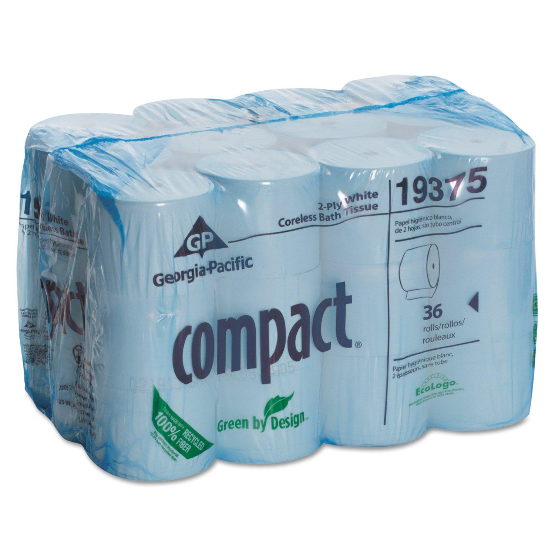 White cloud bathroom tissue - Amazon Com Georgia Pacific Compact Coreless 2 Ply Toilet Paper 19375 Pack Of 36 Home Improvement