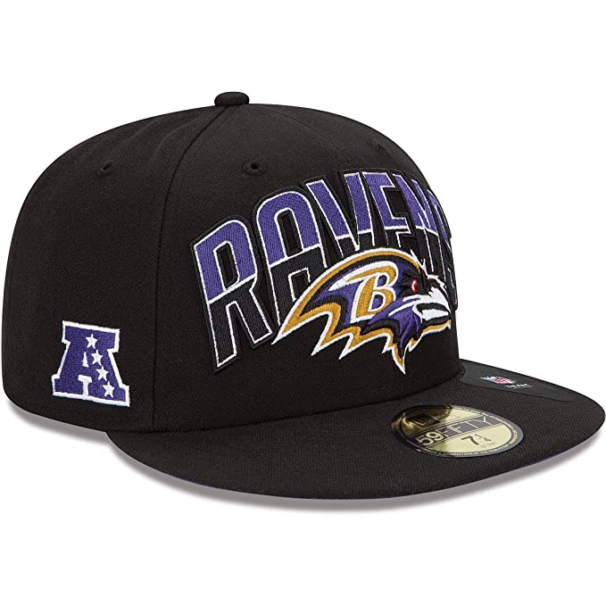 27e8fe7ce NFL Baltimore Ravens 2013 Draft 59FIFTY Fitted Cap