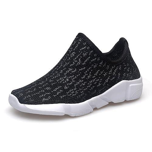 ENIGE - Zapatillas de Andar Bebitos, Negro (Negro), 25 EU (7 M US ...