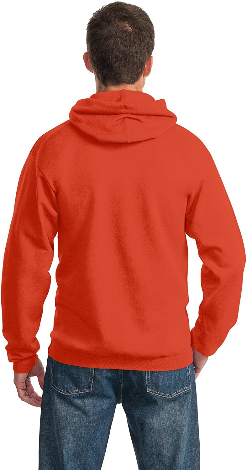 Port /& Company Mens Ultimate Pullover Hooded Sweatshirt