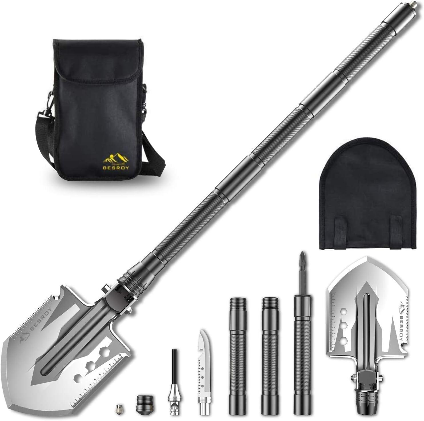 Multi-Function Military Portable Shovel Tactical Folding Shovel Camping Shovel