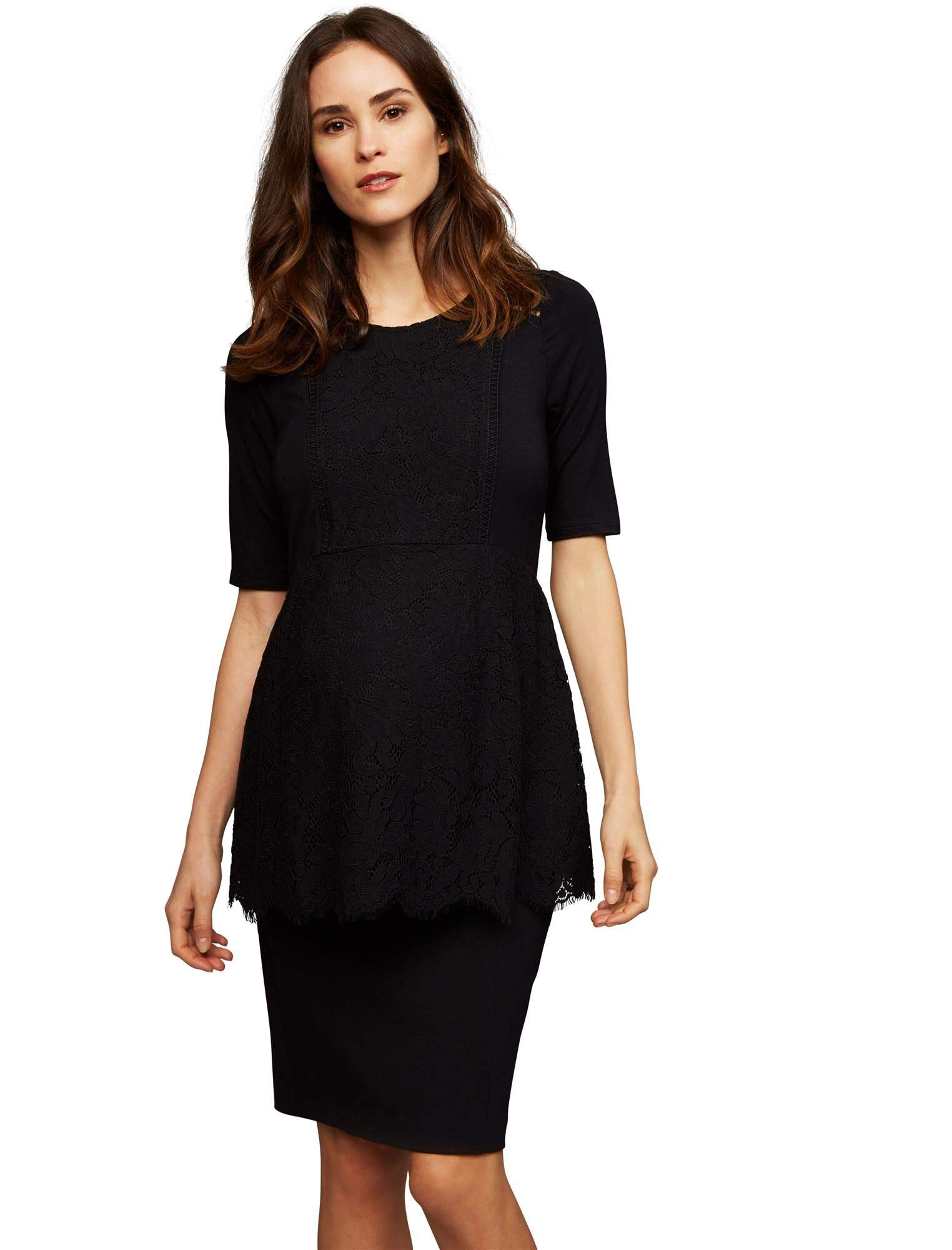 A Pea in the Pod Secret Fit Belly Pencil Fit Maternity Skirt Core Black by A Pea in the Pod