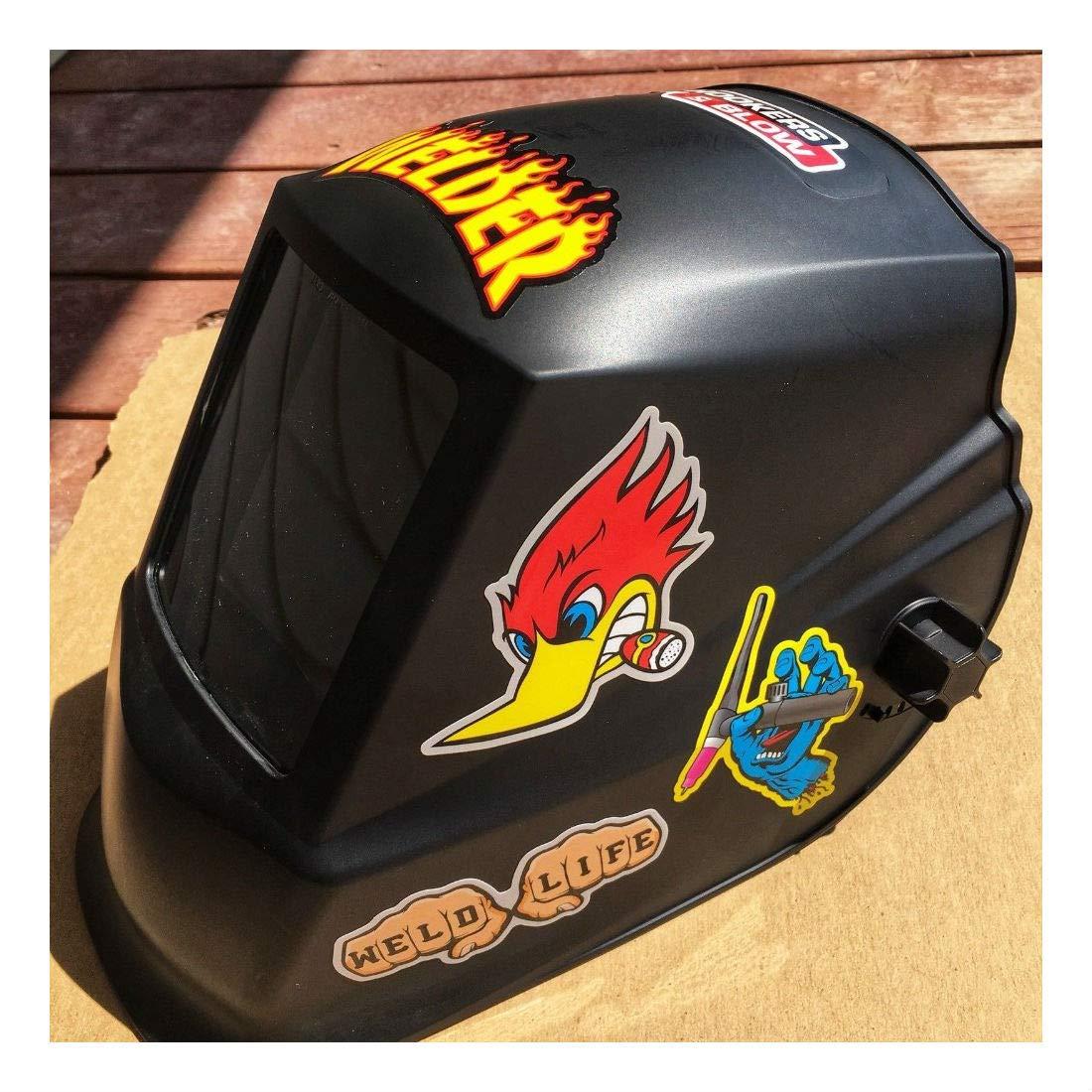 New Welder 40+ Hard Hat Stickers Hardhat Sticker & Decals, Welding Helmet, Hood by Unknown (Image #5)