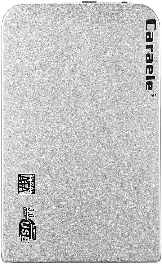 Unbranded 2.5インチポータブル外付けハードドライブHDD USB 3.0 SATA、デスクトップ用ケーブル付き - 500GB