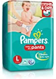 Pampers Large Size Diaper Pants (36 Count)