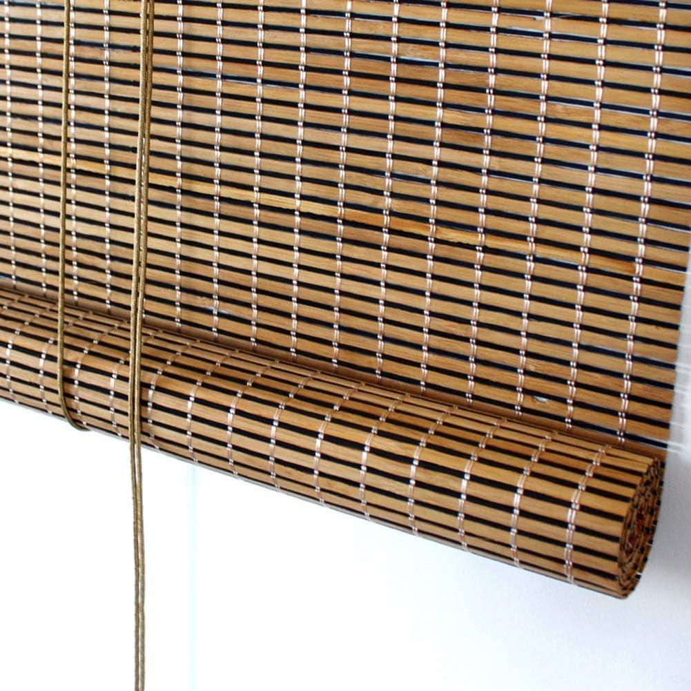 Persiana de bambú Persianas Exteriores Enrollables para Patio ...
