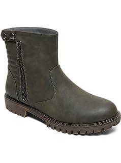 76e73b9118a71 Roxy Women's Margo Motto Fashion Boot: Amazon.co.uk: Shoes & Bags