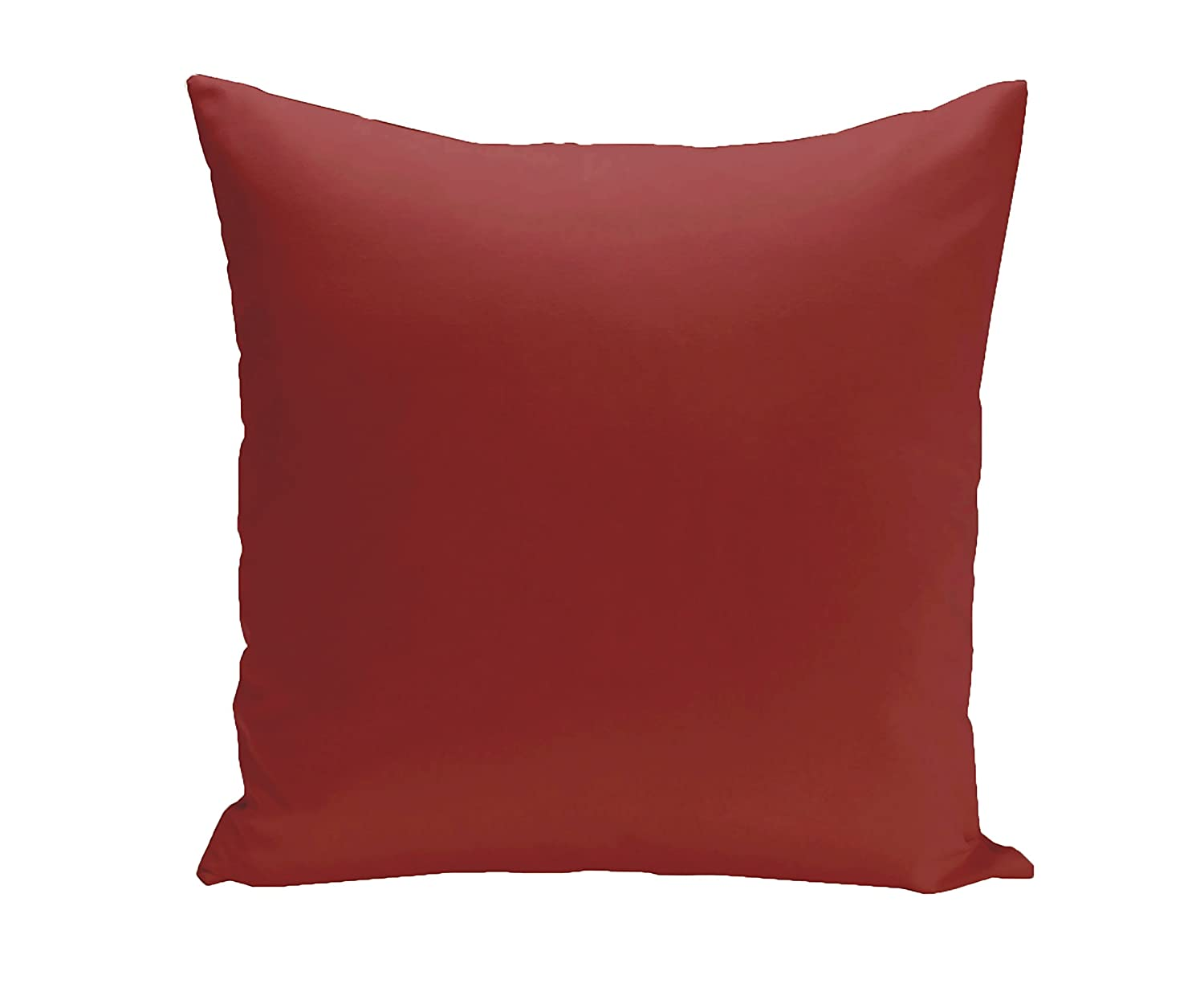 Dragon,Red E by design PSO-N62-Dragon-26 Asian Collection Solid Decorative Pillow