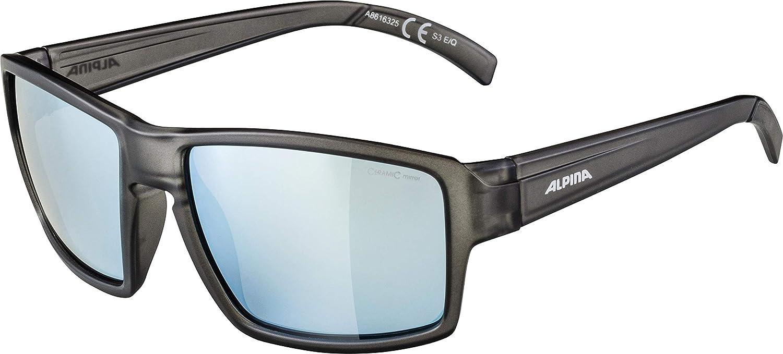 ALPINA Melow Exteriores de Gafas, Grey Transparente Mate ...