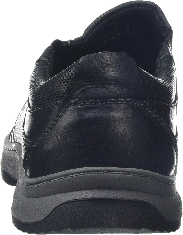 Negro Black 000 Mocasines para Hombre Hush Puppies Jasper Slip on 42 EU